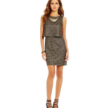Gianni Bini Rosa Popover Dress | Dillards