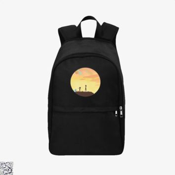 Rick And Morty Sunset, Rick And Morty Backpack