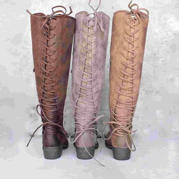 Day-First™ very volatile - miraculous - knee high zip boot (women) - more colors