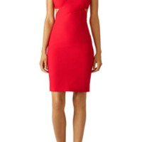 Elizabeth and James Red Aldridge Cutout Dress