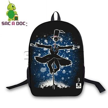 Anime Backpack School kawaii cute Ghibli My Neighbor Totoro Backapck Cool Fluorescence Travel Backpack for Teens Students Book Bag Women Men Laptop Backpack AT_60_4