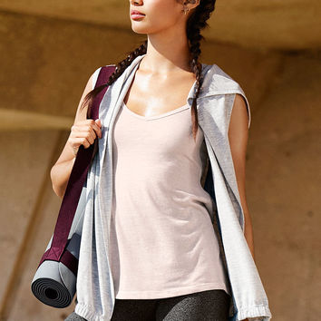 Yoga Sleeveless Hooded Cardigan - Victoria Sport - Victoria's Secret