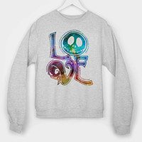 love jack halloween Galaxy long sleeves for mens and womens by usa