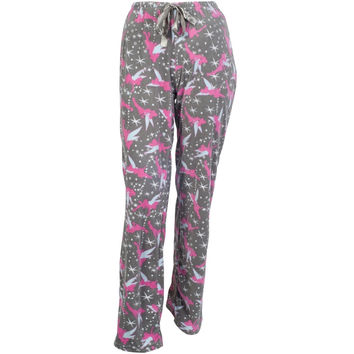 Tinkerbell - Sassy Tink Juniors Fleece Sleep Pants