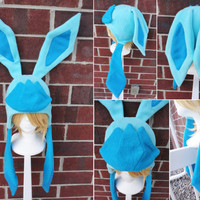 Glaceon Pokemon Hat - A winter, nerdy, geekery gift!