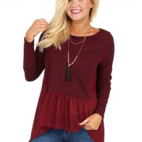 Hope There's A Conversation Sweater   Monday Dress Boutique