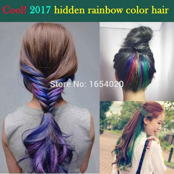 lot Colorful hair cream multicolour hair chalk HARAJUKU bleaching powder gradient color crayons for Fashion Hair Color Salon Hai