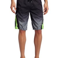 ALPINESTARS Men's Contender Stripe Boardshorts, Black, 38