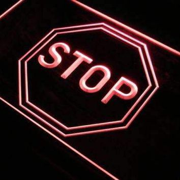 Stop LED Neon Light Sign