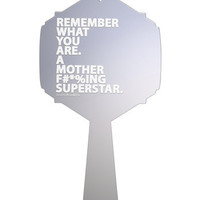 Superstar Hand Mirror | Printed Vanity Mirror