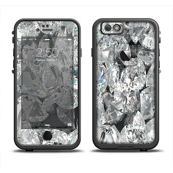 The Scattered Diamonds Apple iPhone 6/6s Plus LifeProof Fre Case Skin Set