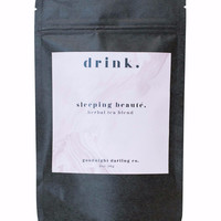 sleeping beaute'. herbal tea blend