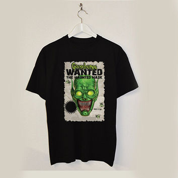 the haunted mask goosebumps T-Shirt Men, Women and Youth size S-2XL