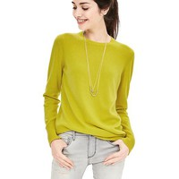 Banana Republic Womens Italian Cashmere Blend Sweater Pullover