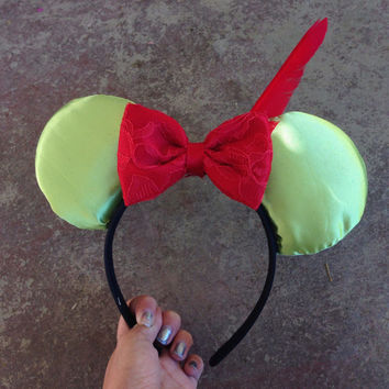 Peter Pan Mouse Ears Neverland Custom Mouse Ears