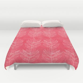 Leaf1 Duvet Cover by anipani