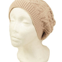 Knit Slouchy Beanie - 4 Colors