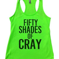 FIFTY SHADES OF CRAY Womens Workout Tank Top