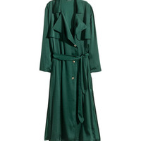 Satin Trenchcoat - from H&M