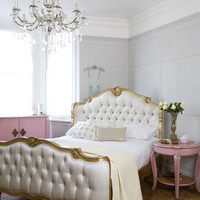 Willows Shell Carved Bed - Gold Sweetpea & Willow London
