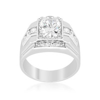 Mustang Cubic Zirconia Ring, size : 10
