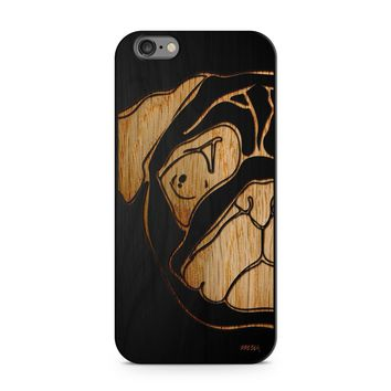 Black Bamboo - Pug Phone Case