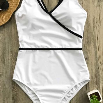 Cupshe Pure Joy Binding One-piece Swimsuit
