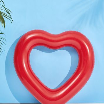 Heart Shaped Swimming Ring