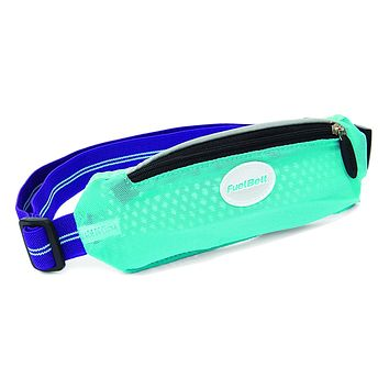 Fuelbelt SuperStretch Waistpack: Arctic Blue/Purple One Size
