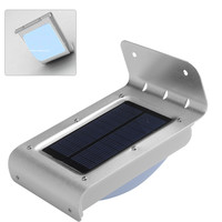 Solar Powered Outdoor Security Light - Motion Detection, 100 Lumen