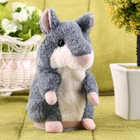 Hot Speak Talking Record Nod Hamster Mouse Plush Kids Toy Russian Gift - Walmart.com