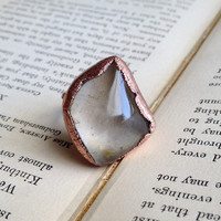 Quartz Cocktail Ring - Size 5
