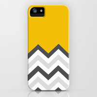 Color Blocked Chevron 17 iPhone & iPod Case by Josrick