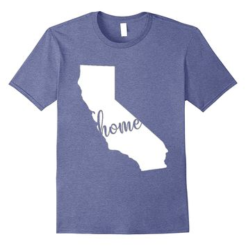 California Home State Shirt Gift for Californians