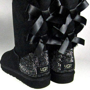 tall sparkle uggs