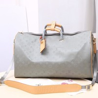 Kuyou Lv Louis Vuitton Fashion Women Men Gb2964 M43886 Keepall 50 Travel Soft Bag
