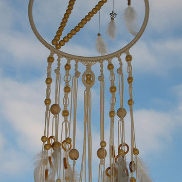 Large Dream Catcher, Macrame Dreamcatcher, Dream Catcher, boho dreamcatcher, dreamcatchers, wedding decor, handmade, wall hanging