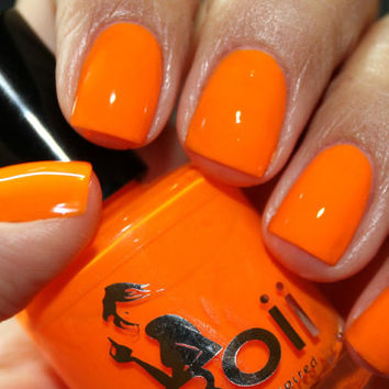 neon orange    - Boii Nail polish