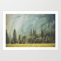 Yosemite Valley IV Art Print by Hraun Photography