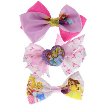 Disney Princess Hair Bow Set