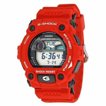 Casio Mens G7900A-4 Rescue Red G-Shock Watch