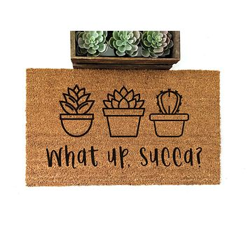 What Up Succa Doormat - ON SALE