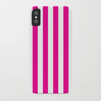 Vertical Pink Stripes by CoolFunAwesomeTime