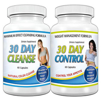 30 Day Diet Detox Fast Weight loss pills Fat Burn Cleanse & Control