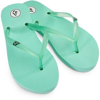 Volcom Rocking 2 Girl's Sandals - Mint