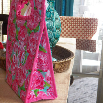 Lilly Pulitzer First Impression Monogrammed Lunch Bag