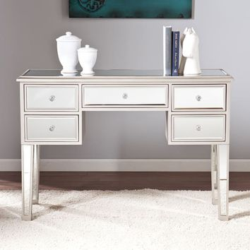 Silver Orchid Olivia Mirrored Console Table | Overstock.com Shopping - The Best Deals on Coffee, Sofa & End Tables
