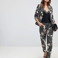 Paper Dolls floral check pants two-piece in multi color | ASOS