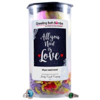 All You Need Is Love! | Greeting Bath Bombs®