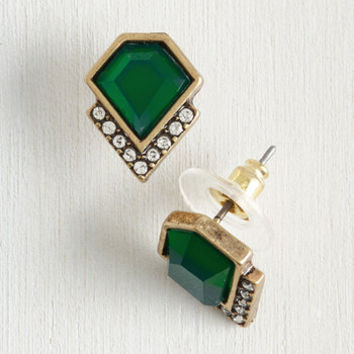 Play by the Jewels Earrings by ModCloth